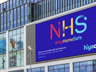 Hiyacar helps NHS workers #NipHomeSafe with Fold7